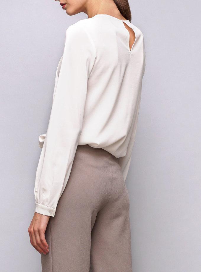 Блуза с защипами SHKO_14070001, фото 1 - в интернет магазине KAPSULA