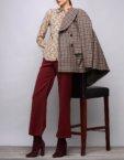 Пальто с капюшоном из шерсти SHKO_17039004_outlet, фото 4 - в интеренет магазине KAPSULA