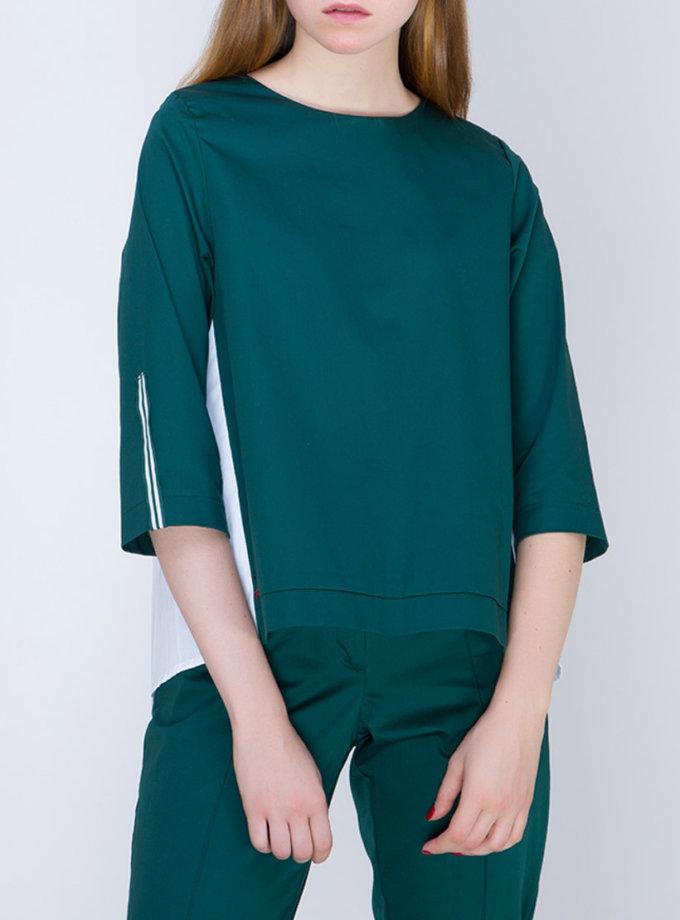 Блуза с плиссировкой на спине INS_FW17_1802_2_outlet, фото 1 - в интернет магазине KAPSULA