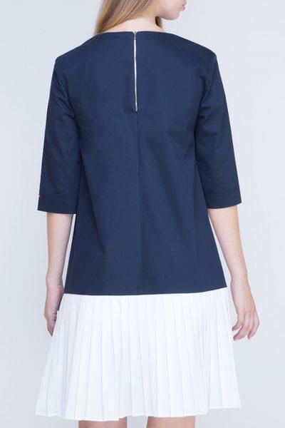 Платье с плиссировкой на спине INS_FW17_1807_outlet, фото 4 - в интеренет магазине KAPSULA