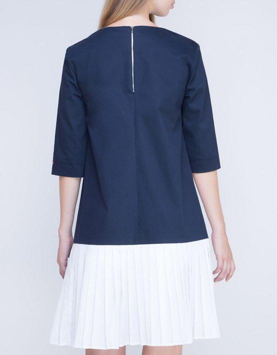 Платье с плиссировкой на спине INS_FW17_1807_outlet, фото 6 - в интеренет магазине KAPSULA