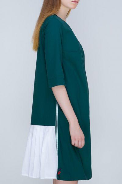 Платье с плиссировкой на спине   INS_FW17_1807_2, фото 1 - в интеренет магазине KAPSULA
