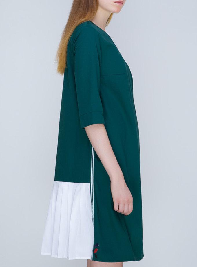 Платье с плиссировкой на спине INS_FW17_1807_2_outlet, фото 1 - в интернет магазине KAPSULA