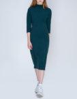 Трикотажное платье миди   INS_FW17_1810, фото 4 - в интеренет магазине KAPSULA