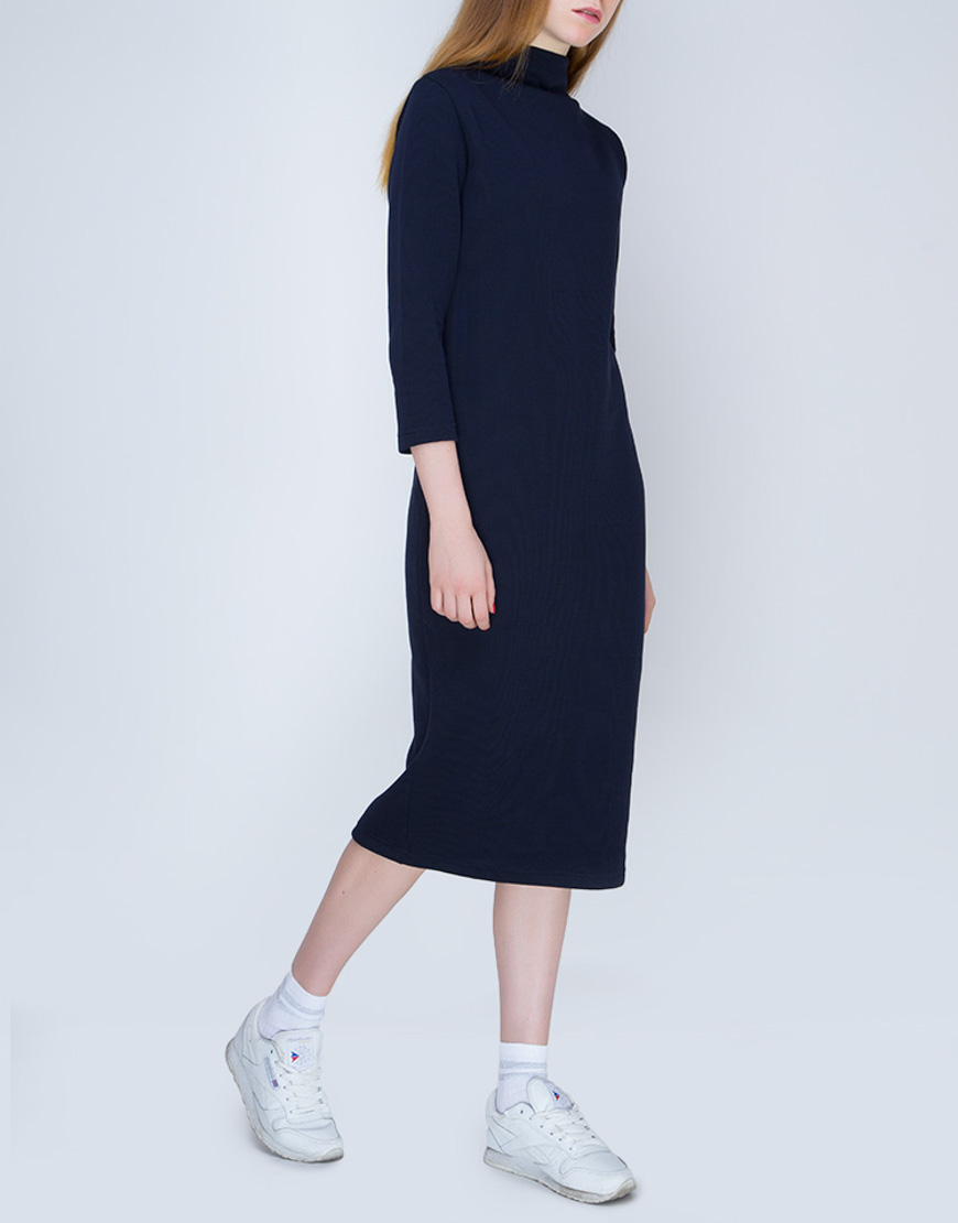 Купить Трикотажное платье миди