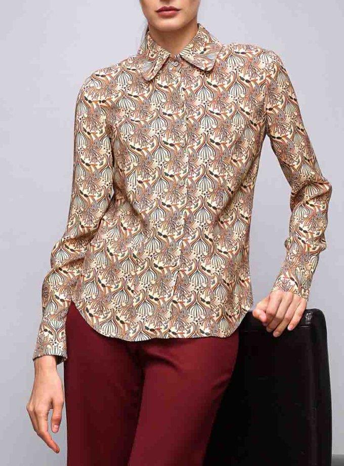 Блуза из плотной вискозы SHKO_16054002_outlet, фото 1 - в интернет магазине KAPSULA