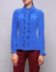 Блуза из плотной вискозы SHKO_16054002, фото 6 - в интеренет магазине KAPSULA