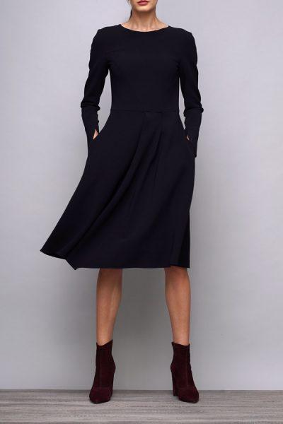 Платье приталенное из шерсти SHKO_17031002, фото 3 - в интеренет магазине KAPSULA