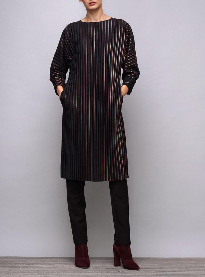Платье из плиссированой ткани SHKO_17037002_outlet, фото 1 - в интернет магазине KAPSULA
