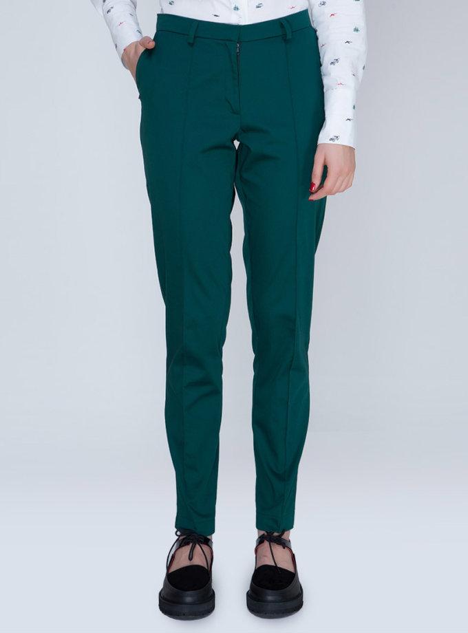 Хлопковые брюки с лампасами INS_FW17_1804_2_outlet, фото 1 - в интеренет магазине KAPSULA