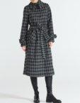 Бесшовное шерстяное платье   JND_17-010615_gr, фото 5 - в интеренет магазине KAPSULA