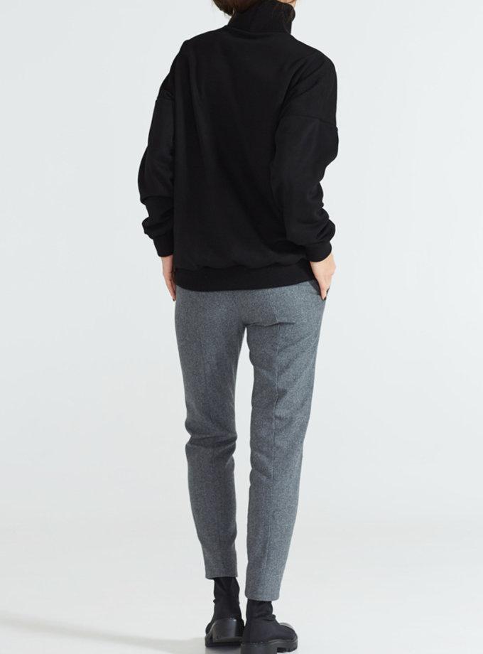Зауженные брюки из шерсти AY_2176, фото 1 - в интеренет магазине KAPSULA