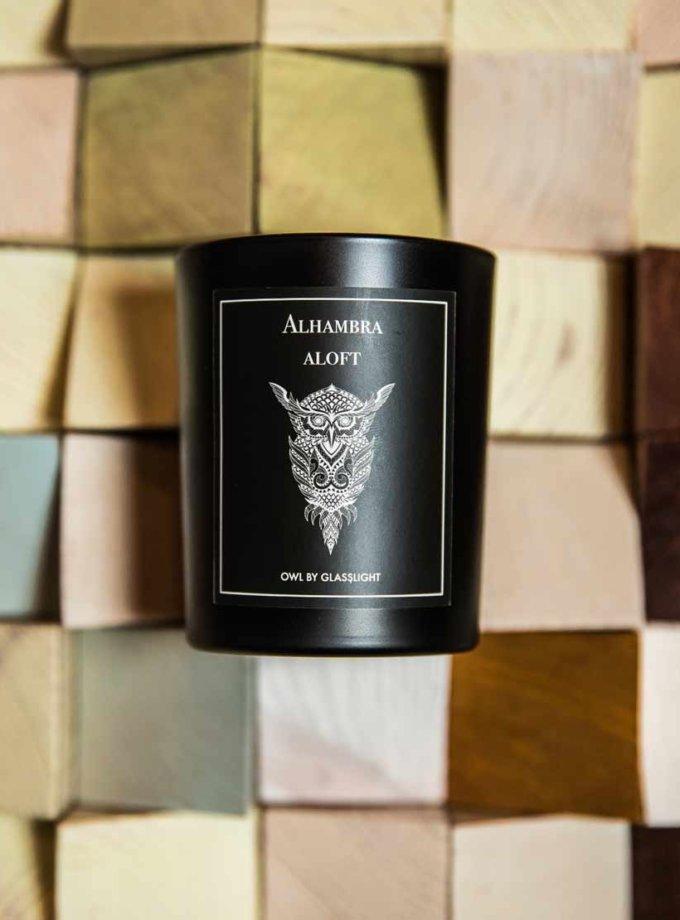 Парфюмированная свеча OWL Alhambra aloft GLGHT_2, фото 1 - в интернет магазине KAPSULA