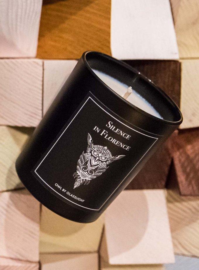 Парфюмированная свеча OWL Silence in Florence GLGHT_1, фото 1 - в интеренет магазине KAPSULA