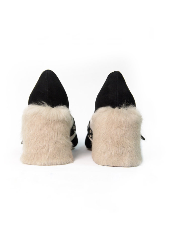 Туфли из замши IRLT_T_1_18, фото 1 - в интернет магазине KAPSULA