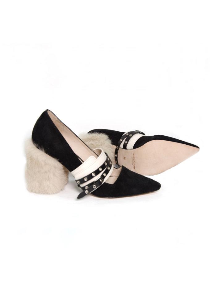 Туфли из замши IRLT_T_1_18, фото 1 - в интеренет магазине KAPSULA