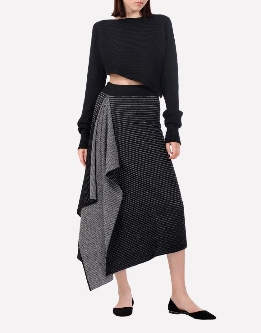Вязаная шерстяная юбка JND_17-010509, фото 1 - в интернет магазине KAPSULA