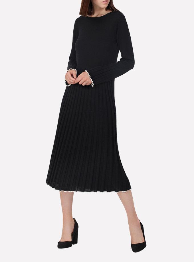 Вязаное платье из шерсти JND_17-010616, фото 1 - в интеренет магазине KAPSULA