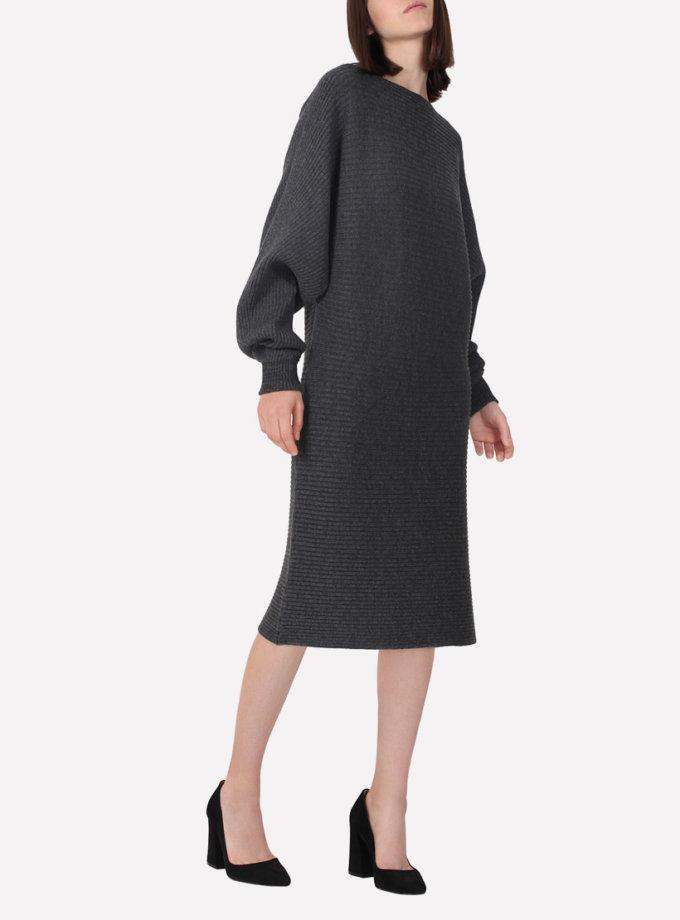 Бесшовное шерстяное платье   JND_17-010615_gr, фото 1 - в интернет магазине KAPSULA