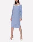 Вязаное шерстяное платье  JND_16-010613_gr, фото 5 - в интеренет магазине KAPSULA