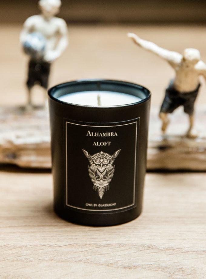 Парфюмированная свеча OWL Alhambra aloft GLGHT_2, фото 1 - в интеренет магазине KAPSULA