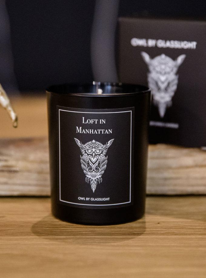 Парфюмированная свеча OWL Loft in M GLGHT_5, фото 1 - в интернет магазине KAPSULA