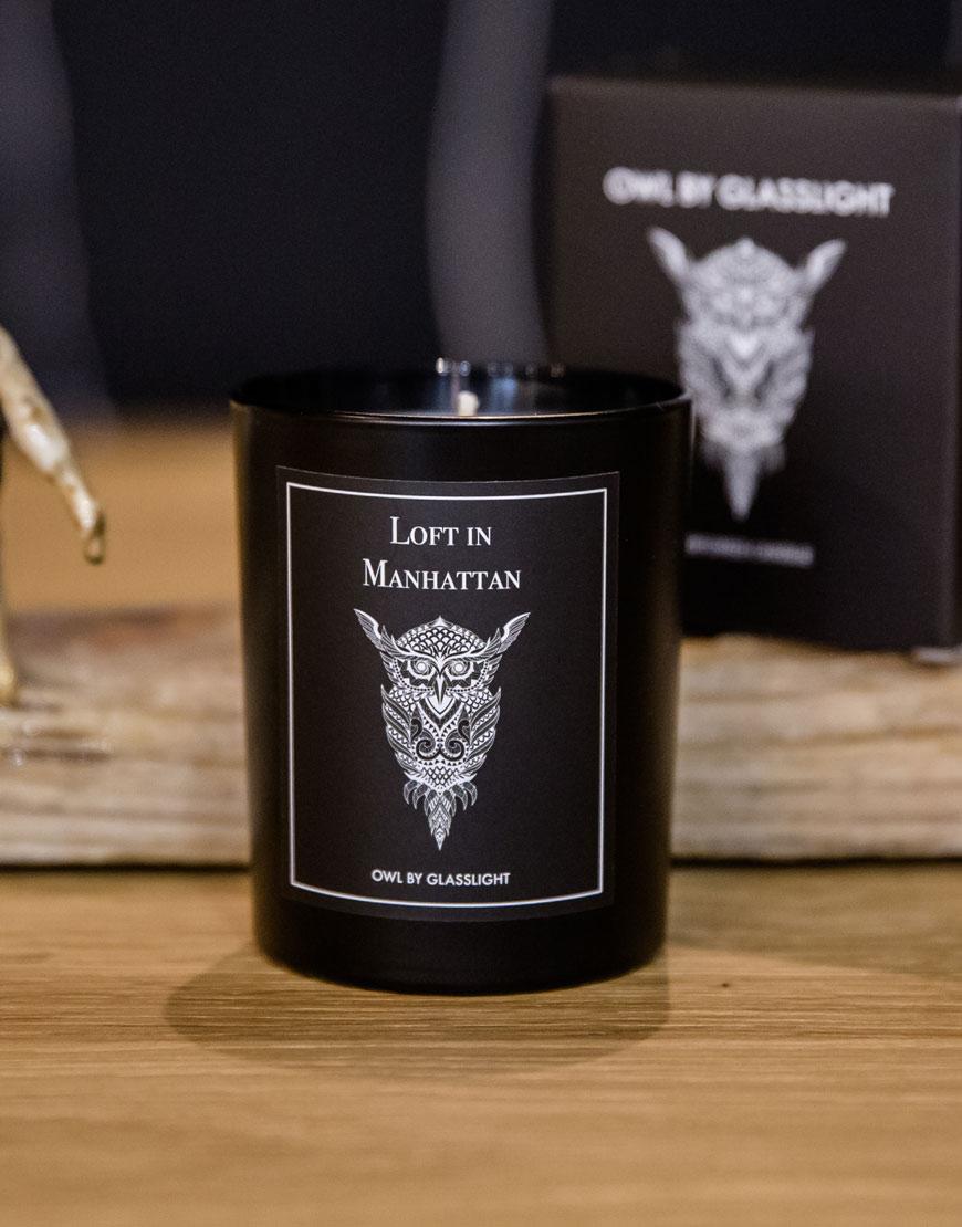 Купить Парфюмированная свеча OWL Loft in M