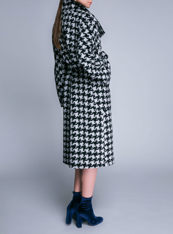 Шерстяное двубортное пальто SHKO_16060003, фото 1 - в интеренет магазине KAPSULA