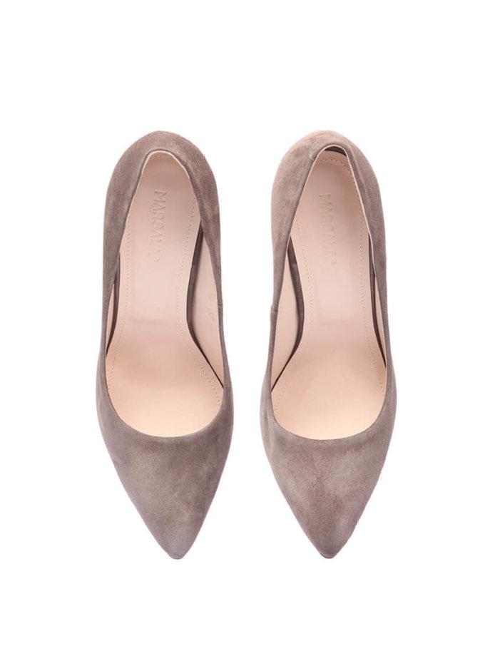 Туфли-лодочки из замши Mistress MRSL_097100, фото 1 - в интернет магазине KAPSULA