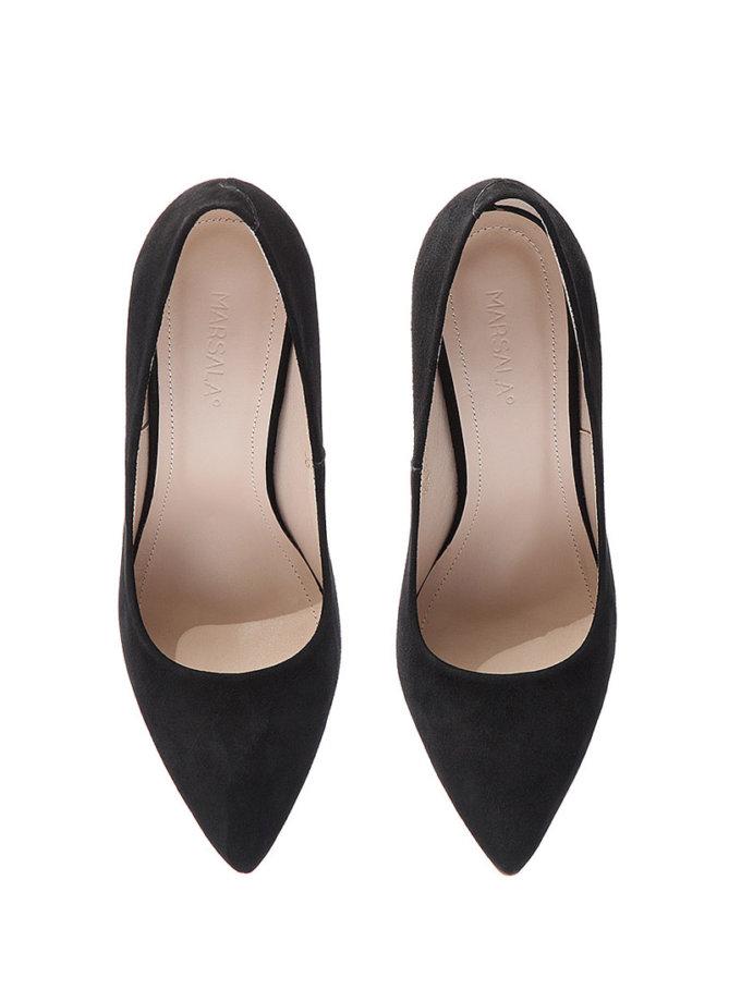 Туфли-лодочки из замши Mistress   MRSL_097101, фото 1 - в интернет магазине KAPSULA