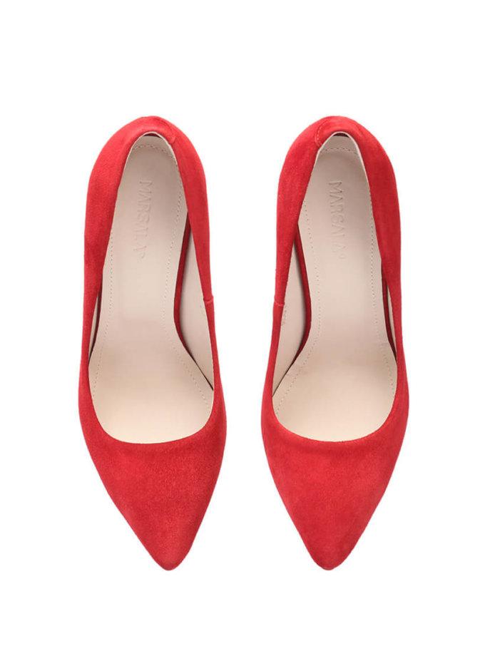 Туфли-лодочки из замши Mistress MRSL_097102, фото 1 - в интернет магазине KAPSULA