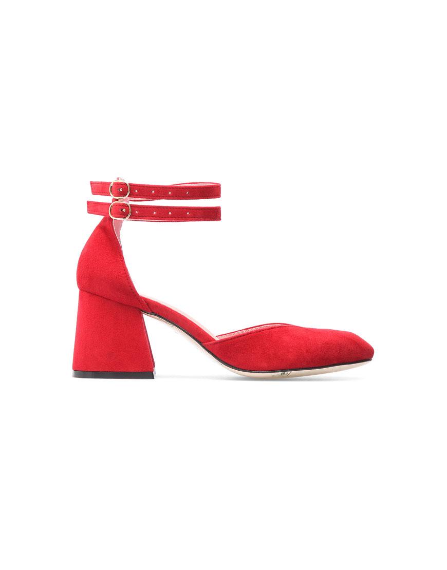 Замшевые туфли Scarlett