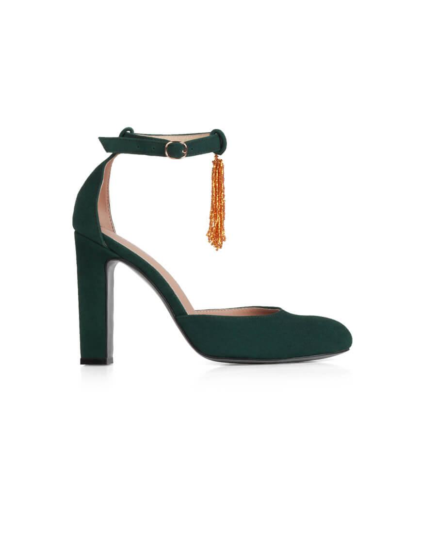 Купить Замшевые туфли Mary Jane