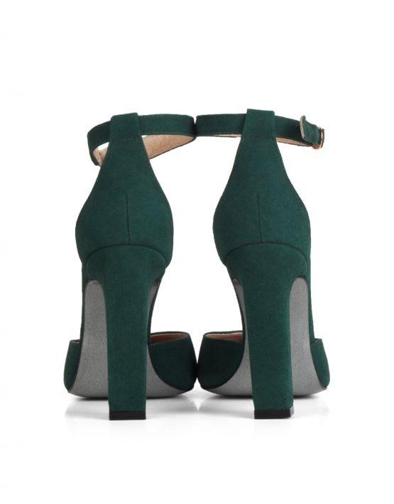 Замшевые туфли  Mary Jane  MRSL_862001, фото 4 - в интеренет магазине KAPSULA