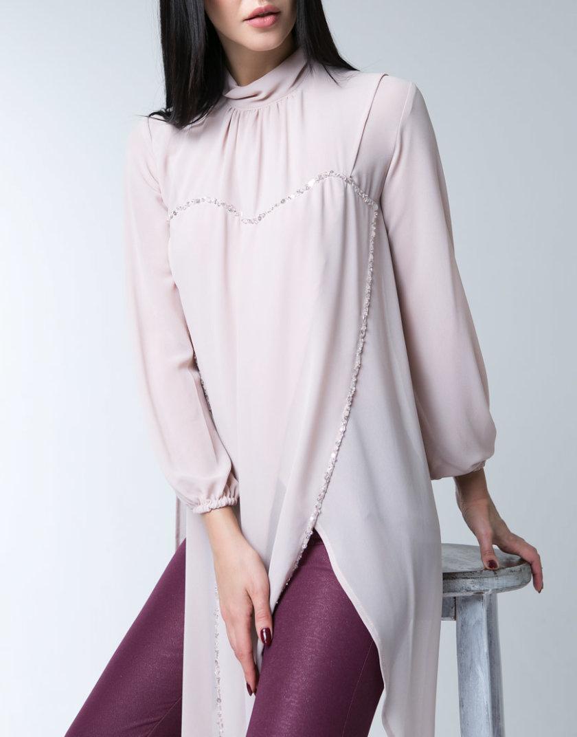 Шифоновая блуза XM_10108, фото 1 - в интеренет магазине KAPSULA