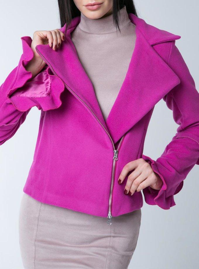 Укороченное пальто-косуха XM_10126_outlet, фото 1 - в интернет магазине KAPSULA