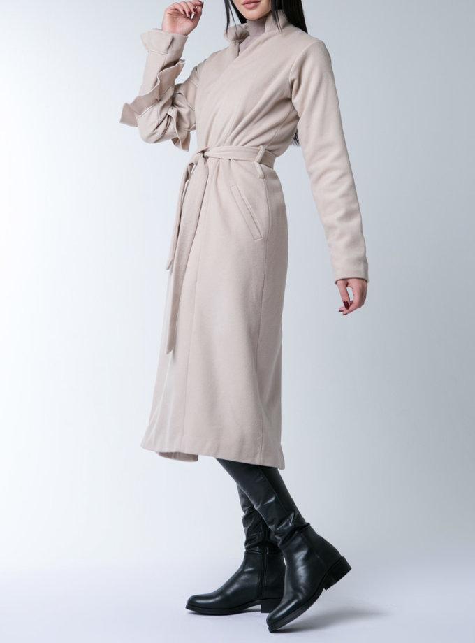 пальто из тонкой шерсти XM_10125_outlet, фото 1 - в интернет магазине KAPSULA