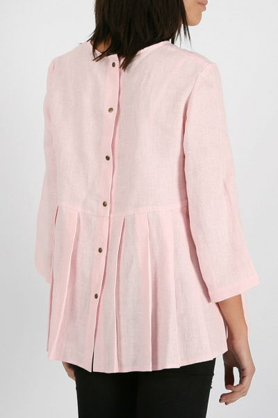 Блуза с кнопками на спинке MRND_М20-2, фото 7 - в интеренет магазине KAPSULA