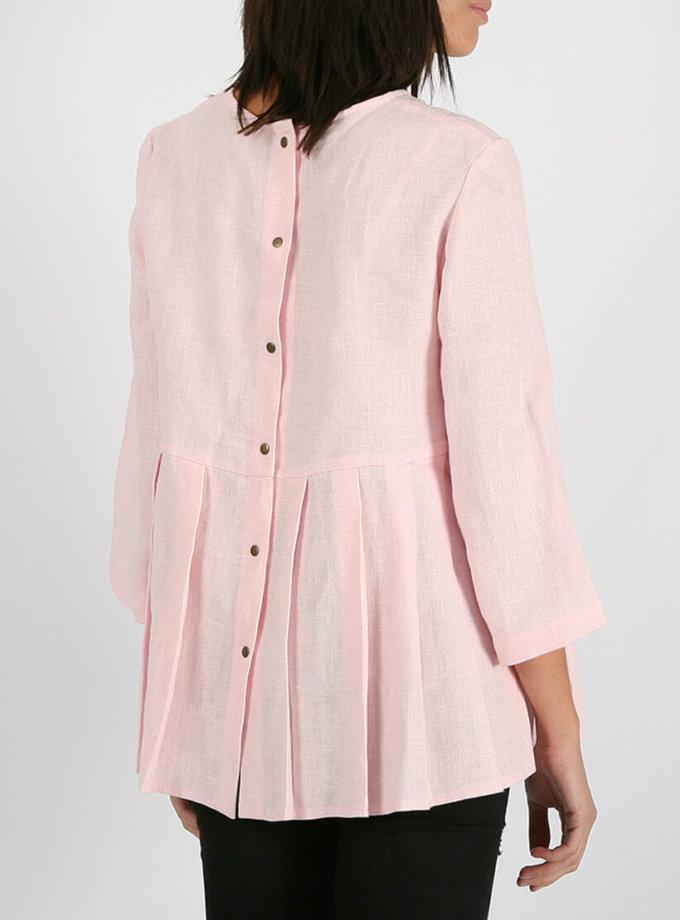 Блуза с кнопками на спинке MRND_М20-2, фото 1 - в интеренет магазине KAPSULA