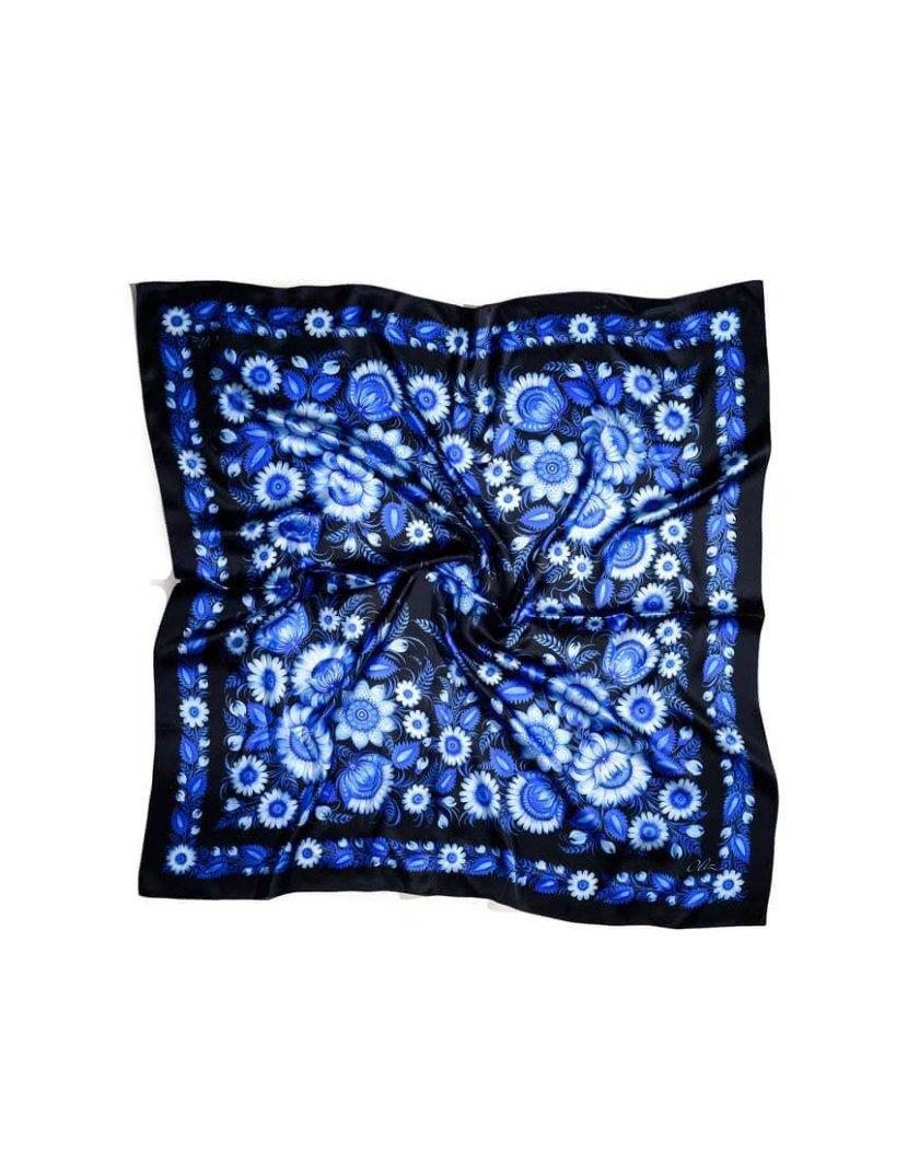 Шелковый платок Лунный свет OLZ_ KS_SS6, фото 1 - в интеренет магазине KAPSULA