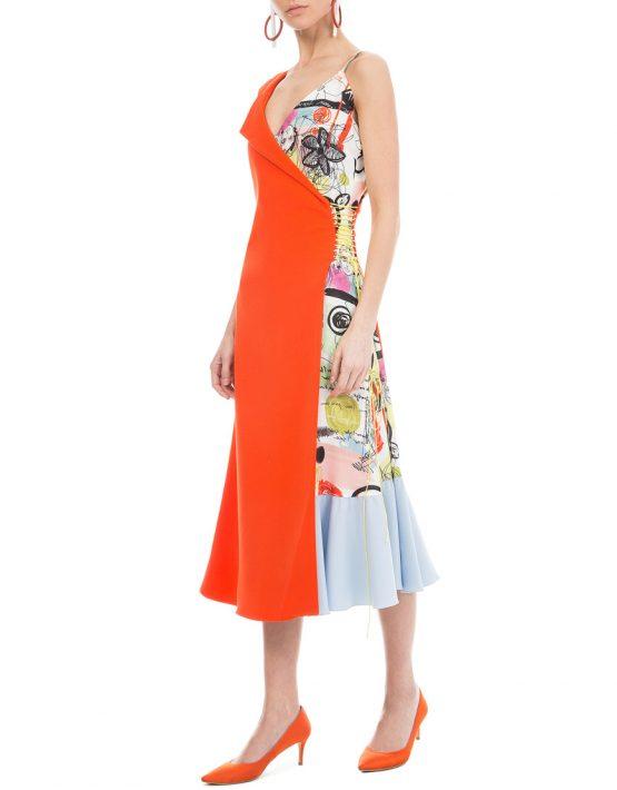 Платье на шнуровке SAYYA_SS750, фото 1 - в интеренет магазине KAPSULA