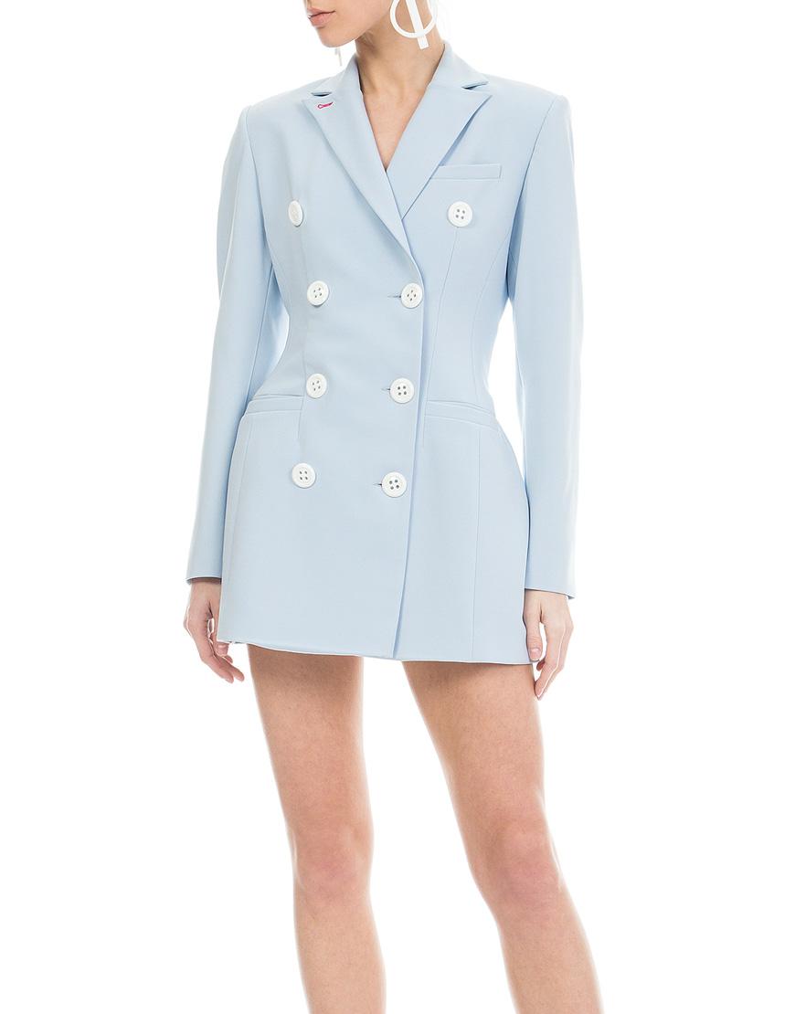 Платье-жакет с корсетной завязкой