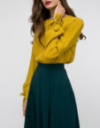 Платье со вшитым поясом  SHKO_17049004, фото 4 - в интеренет магазине KAPSULA