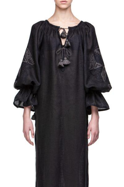 Прозрачное платье из льна для пляжаКатерина FOBERI_178, фото 1 - в интеренет магазине KAPSULA