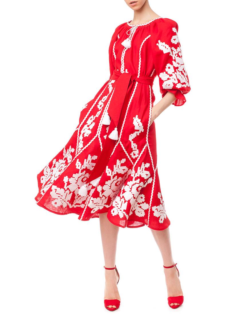 Платье-вышиванка Маричка