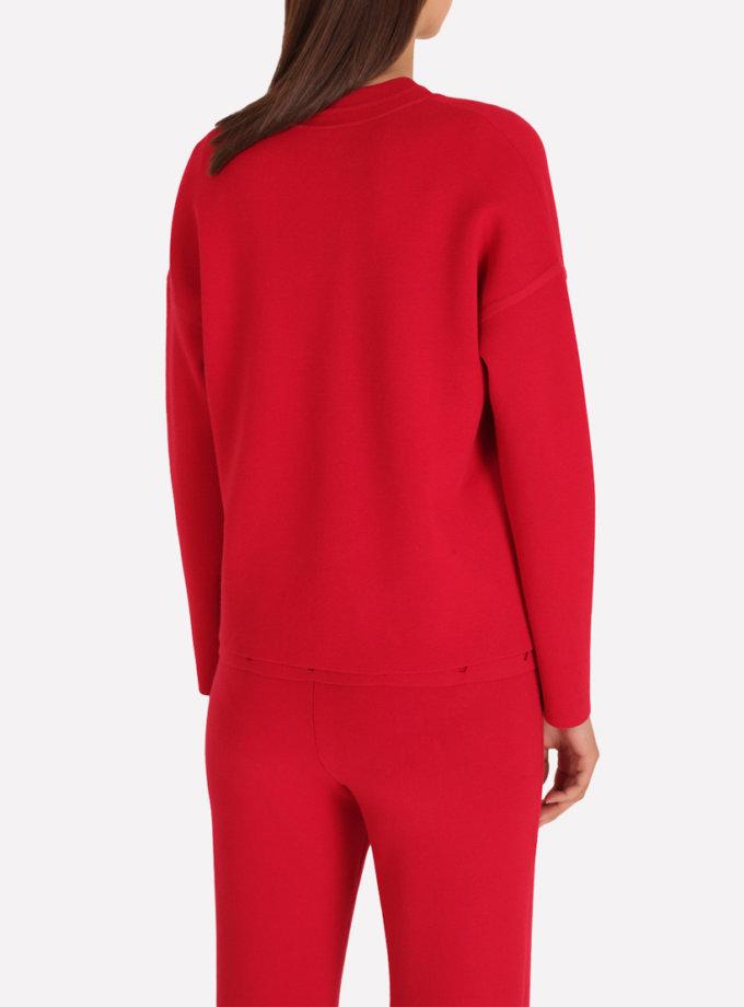 Трикотажный кардиган JND_18-101801_red, фото 1 - в интернет магазине KAPSULA