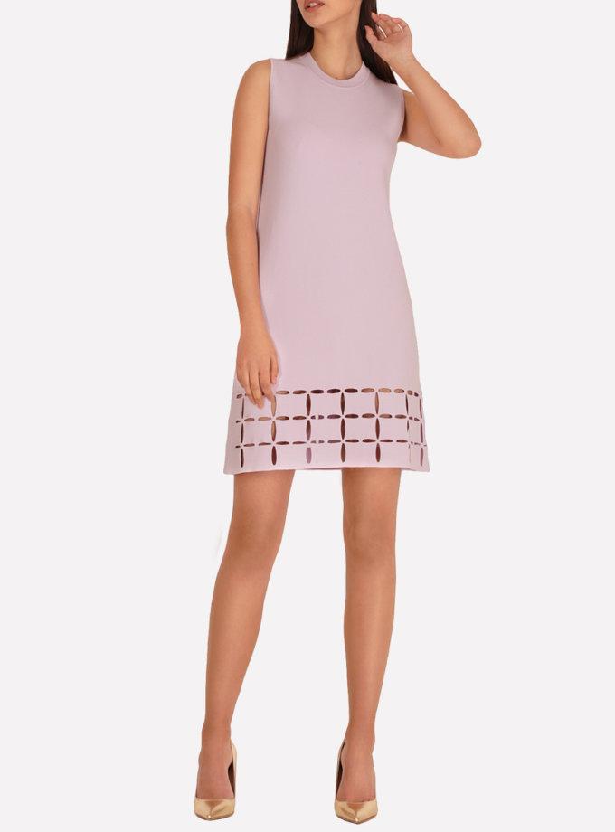 Трикотажное платье  А-силуэта JND_18-100605_s, фото 1 - в интеренет магазине KAPSULA