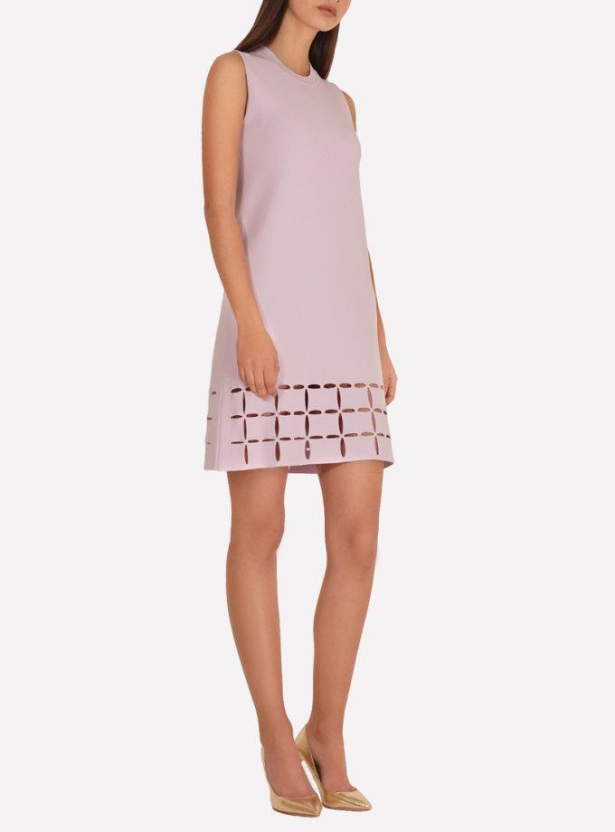 Трикотажное платье  А-силуэта JND_18-100605_s, фото 1 - в интернет магазине KAPSULA