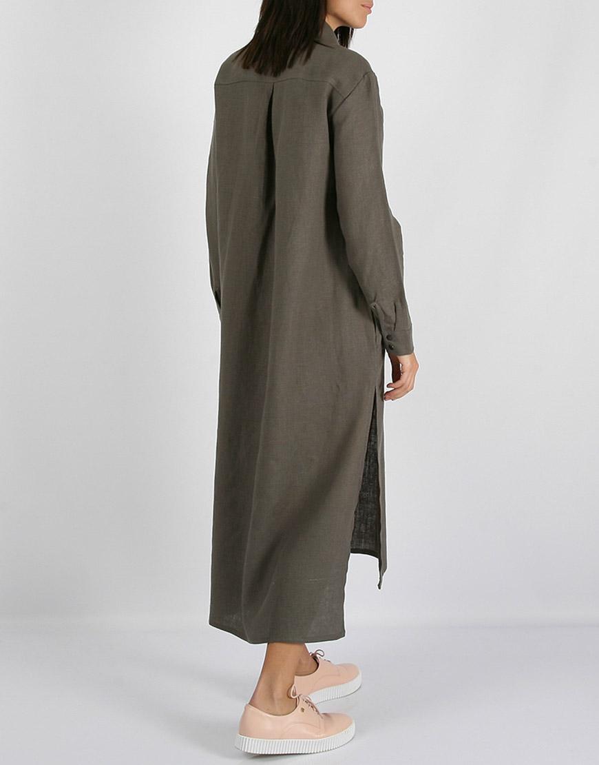 9a355ec2ad7 Льняное платье-рубашка   купить в Киеве