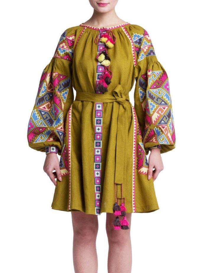 Платье вышиванка Ляля FOBERI_01132, фото 1 - в интернет магазине KAPSULA